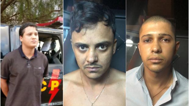 Trio é preso com arsenal que seria usado para explodir caixas eletrônicos, em Anápolis
