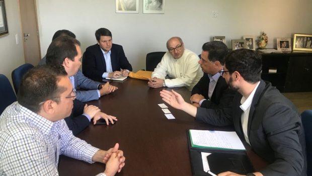 Parlamentares da Venezuela pedem a Marconi apoio para crise política e de refugiados