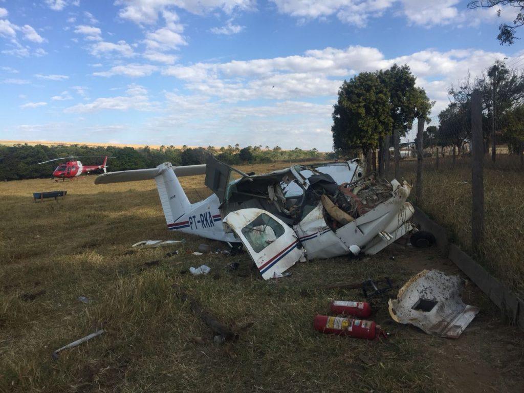Não é primeiro acidente com avião que caiu em Goiás