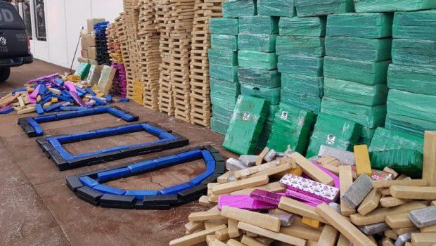 Polícia Militar apreende 4 toneladas de maconha em Mineiros