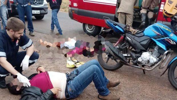 Mulher é morta a tiros durante uma viagem com mototaxista em Rio Verde