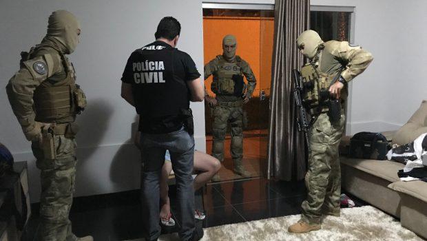 Operação Espectro prende em Goiás grupo que traficava drogas e armas para outros estados