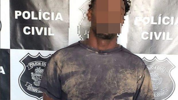 Jovem é preso após matar homem a tiros em Alexânia