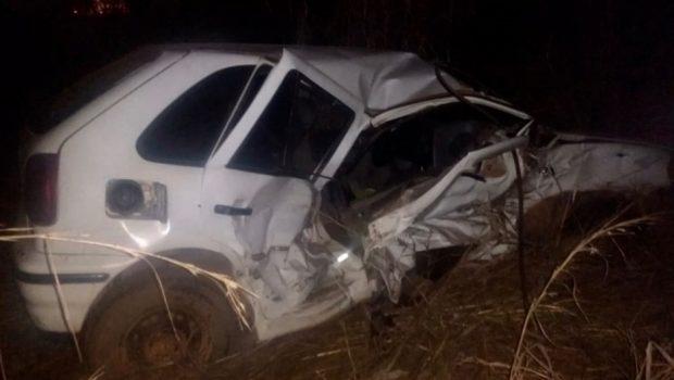 Idosa morre em acidente na BR-020, em Flores de Goiás