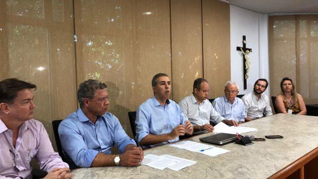 Obras de interligação dos sistemas João Leite e Meia Ponte podem ser entregues em setembro