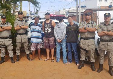 Presa associação criminosa especializada em roubo de celulares e estabelecimentos em Aparecida de Goiânia