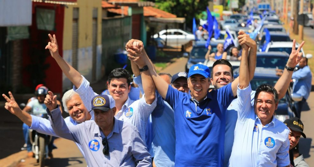 Carreatas marcam o primeiro final de semana de campanha eleitoral em Goiás