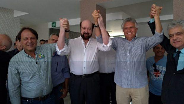 Paulo Beringhs declara apoio ao DEM na disputa pelo Estado de Goiás