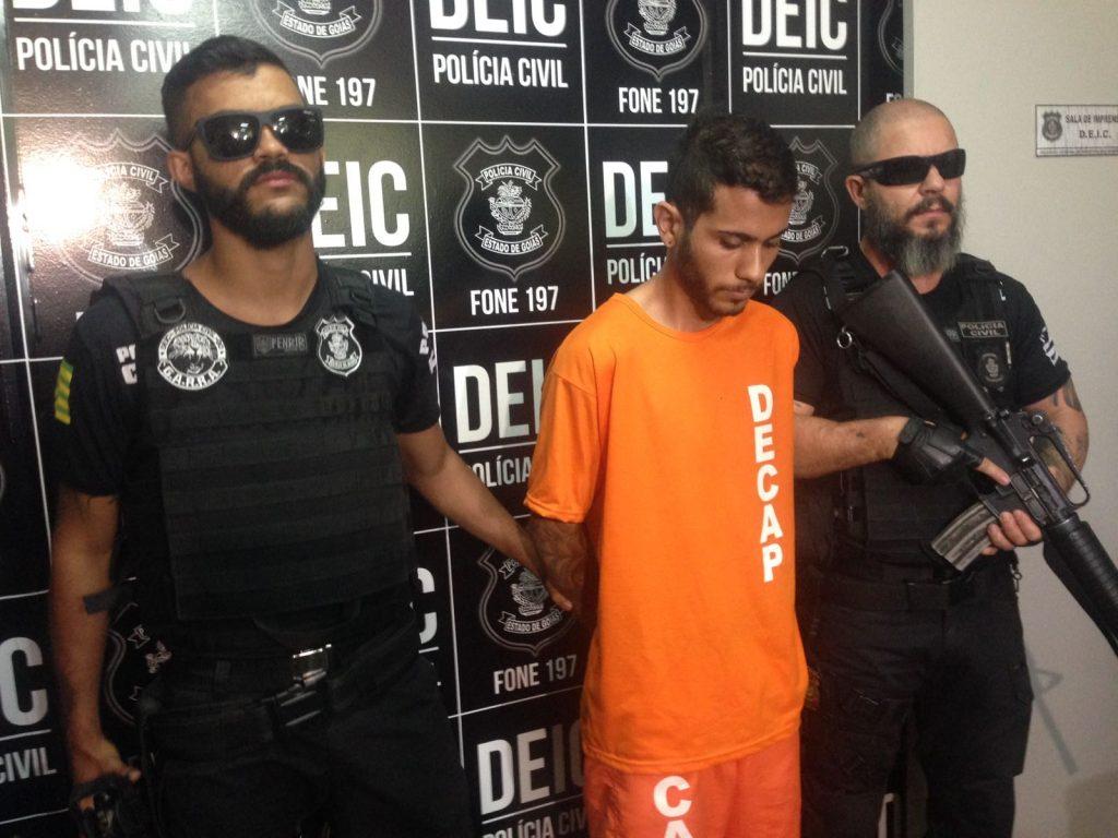 Preso autor de latrocínio que vitimou comerciante no Setor Sul