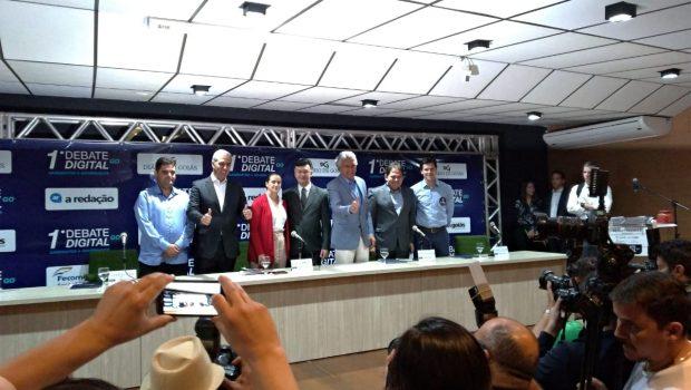 Primeiro debate digital voltado a governadoriáveis no estado é marcado por provocações