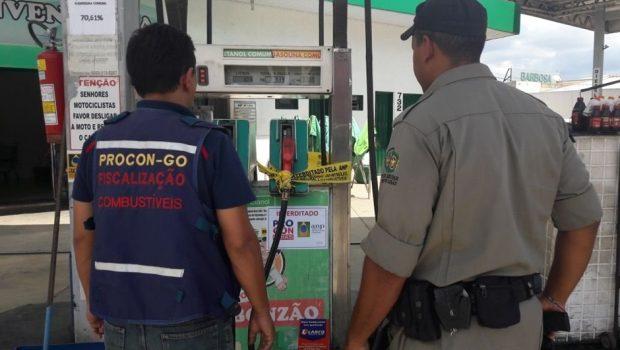 Em Goiás, posto de combustível que adulterar bomba terá registro cassado