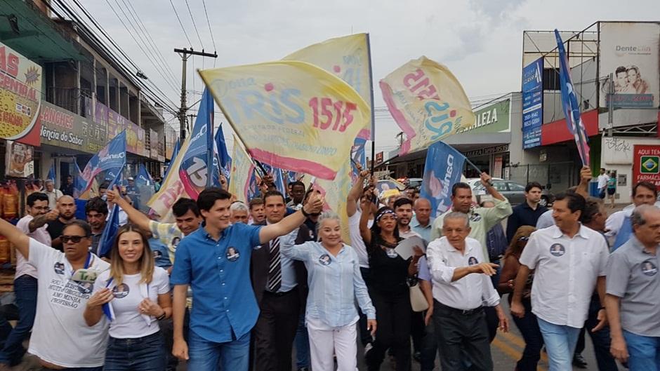 Candidatos ao governo de Goiás iniciam campanha
