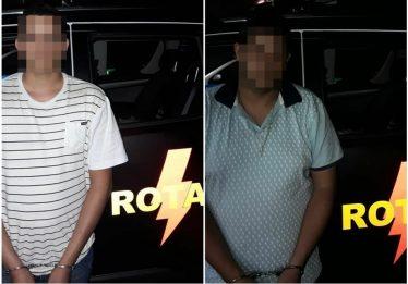 Durante operação, Rotam prende dois suspeitos por roubo de veículos