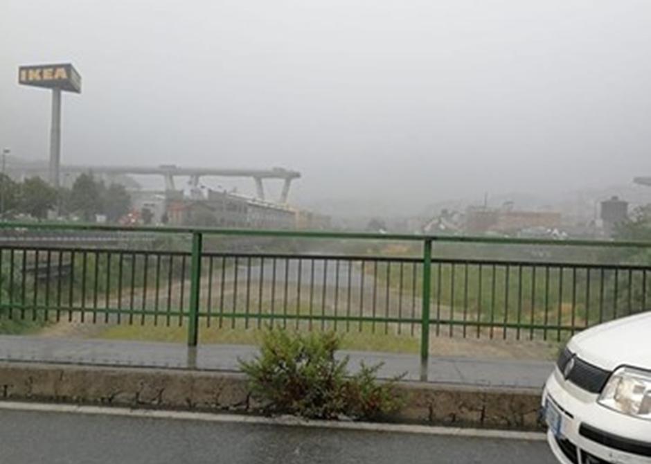 Ponte desaba em Gênova, na Itália, e deixa ao menos 11 mortos