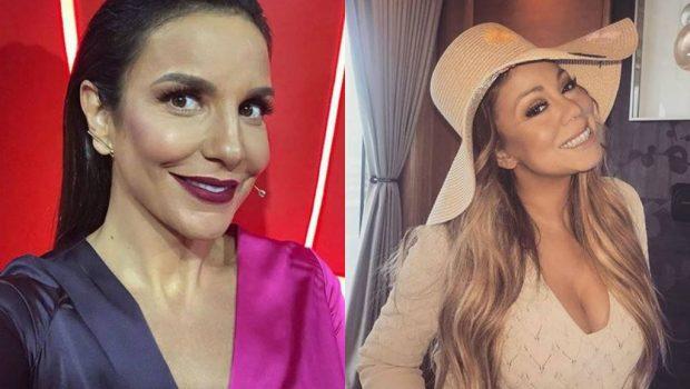 Mariah Carey começa a seguir Ivete Sangalo após comentários no Instagram