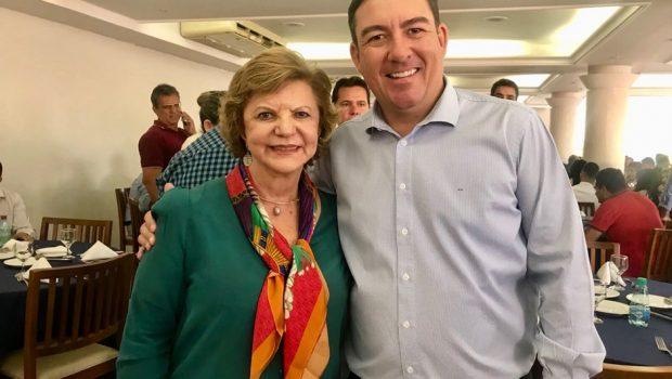 José Vitti será suplente de Lúcia Vânia