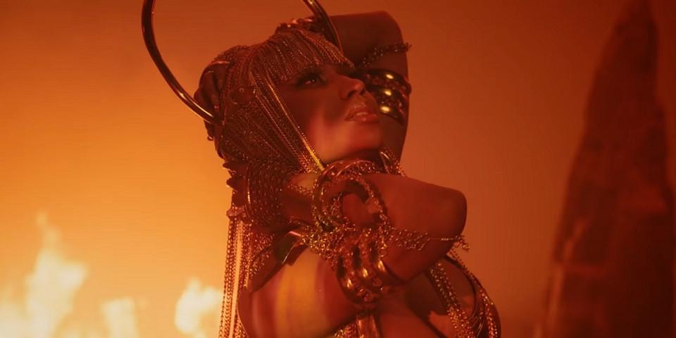 Com desempenho do 'Queen' abaixo do esperado, Nicki Minaj critica Spotify e Travis Scott