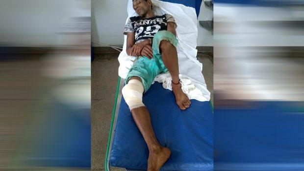Homem resiste a prisão e é baleado, em Bom Jesus de Goiás