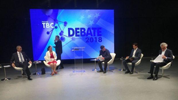 Dois candidatos não participam de debate na TBC