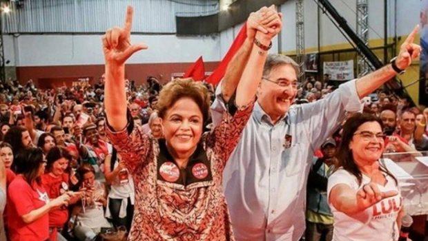PT formaliza candidaturas de Pimentel e Dilma em Minas