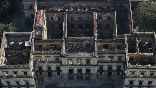Obras de contenção no Museu Nacional devem começar hoje