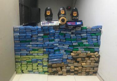 Seis são presos por tráfico internacional de drogas em Goiânia