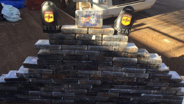 Polícia apreende R$ 5 mi de cocaína em caminhão nas proximidades de Rio Verde