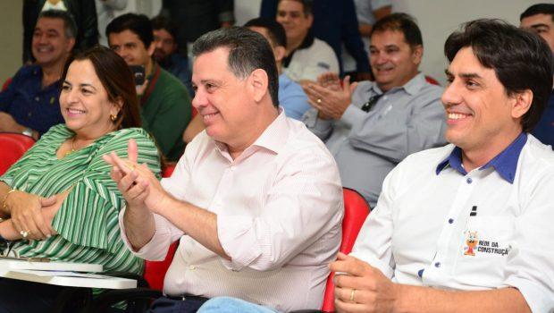 Durante reunião com empreendedores, Marconi é parabenizado pela conquista de Goiás no Ideb