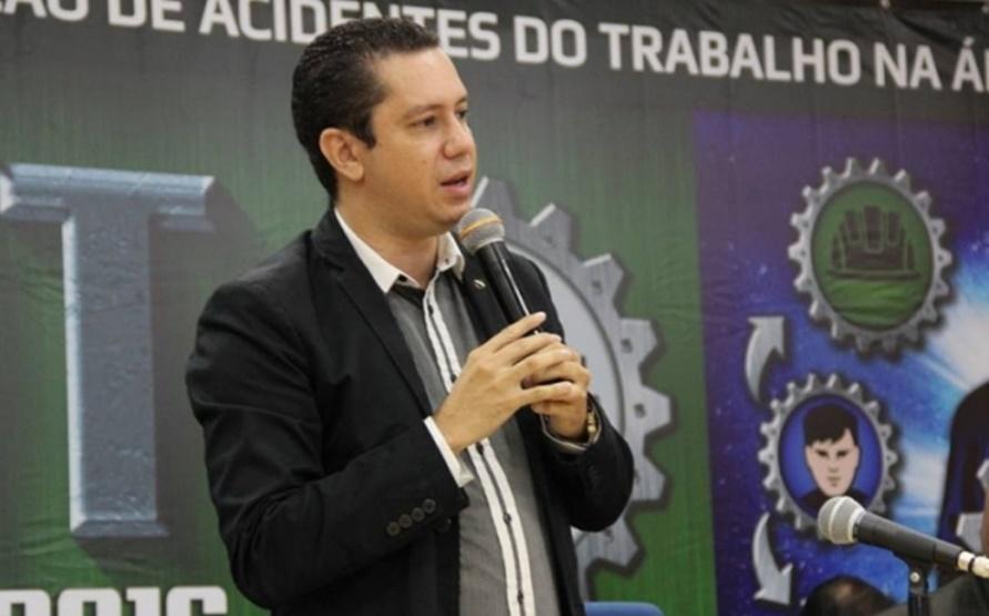 Degmar Pereira (PTB), candidato a deputado estadual e ex-superintendente Regional do Trabalho em Goiás (Foto: Reprodução / STE-GO)
