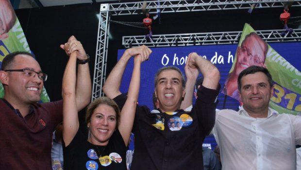 Valéria Perillo participa de inauguração de comitê de candidato a deputado federal