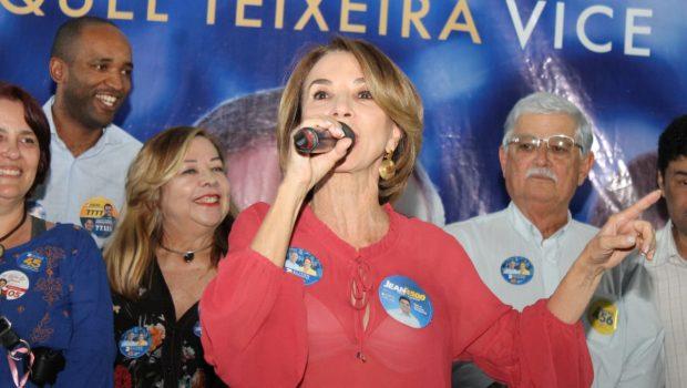 """A titularidade que queremos é 40% para mestrado e 50% para doutorado"", diz Raquel Teixeira"