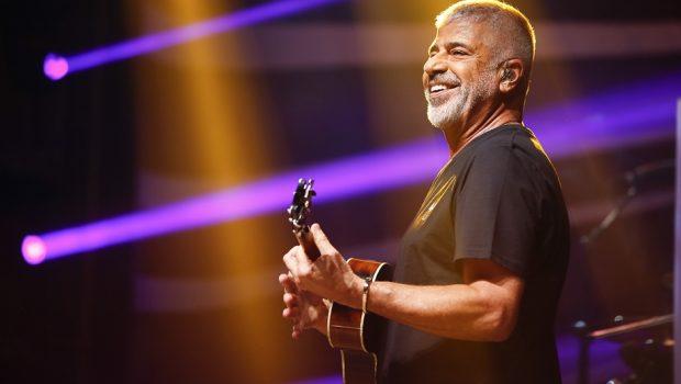 Lulu Santos comemora 45 anos de carreira em show em Goiânia