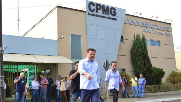 """""""Educação de qualidade de Goiás amplia as oportunidades para os goianos"""", afirma Marconi em Anápolis"""