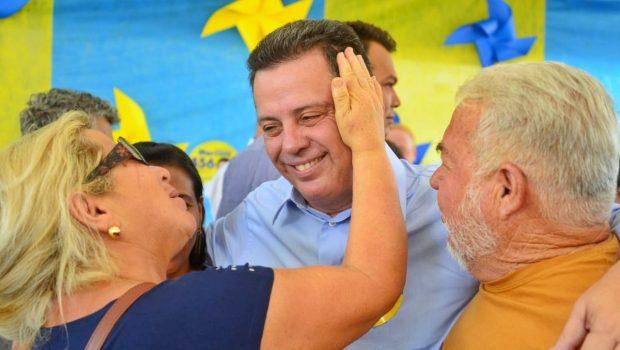 """""""Sempre enfrentei mentiras. Tenho a cabeça erguida, uma vida transparente de trabalho por Goiás"""", diz Marconi"""