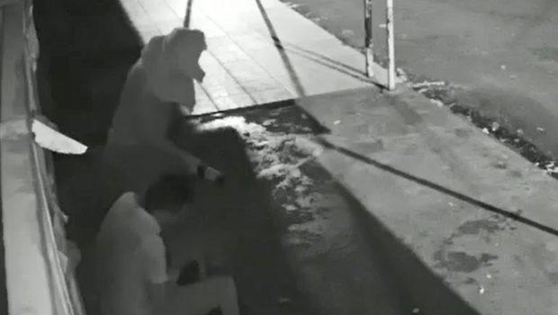 Homem usa garrafa de vidro em tentativa de homicídio e é preso em Nazário