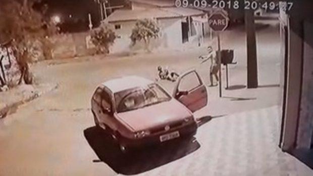 Policial reage e dispara contra assaltante em Nerópolis