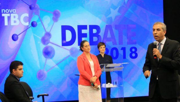 No 2º debate da TBC, Zé Eliton diz que quer fazer um governo marque história em Goiás, um governo transformador