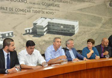 Governador Zé Eliton recebe propostas e garante diálogo permanente com servidores públicos estaduais