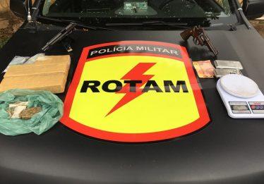 Dois homens morrem após troca de tiros com policiais da Rotam, em Goiânia
