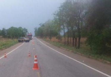 Acidente deixa dois mortos e um gravemente ferido na BR-153, em Porangatu