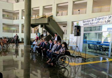Goiânia recebe recursos para construção de rota acessível para deficientes físicos