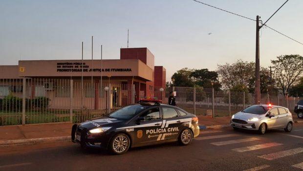 MP deflagra operação contra desvios de recursos no Legislativo de Cachoeira Dourada