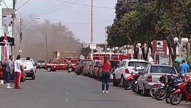 Fagulhas de solda causam incêndio na Unidade Prisional de Formosa