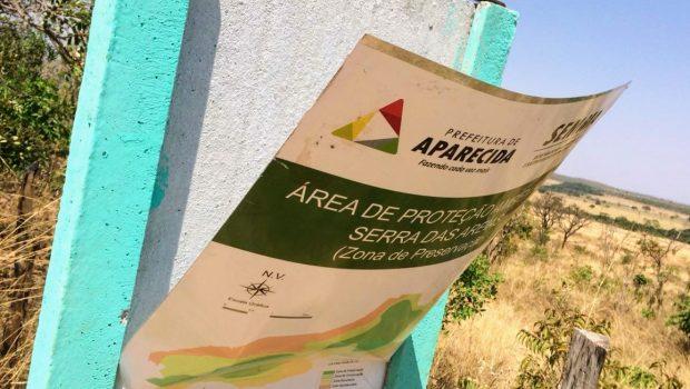 Serra das Areias, em Aparecida de Goiânia,  é invadida e depredada