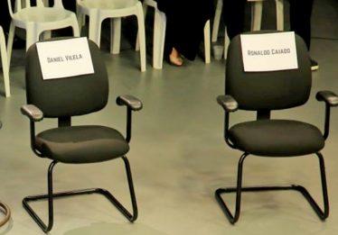 Caiado e Daniel são criticados por ausência em debate televisivo