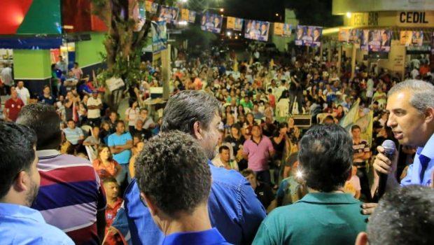 Zé Eliton visita colégio campeão do IDEB em Uruaçu e manifesta preocupação com acirramento político em Goiás e no Brasil
