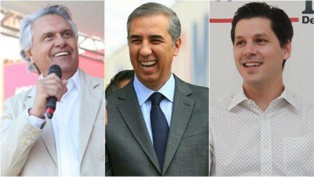 Instituto Directa/O Hoje: Caiado tem 36,8%, José Eliton 26,2% e Daniel Vilela 11,7% das intenções de votos