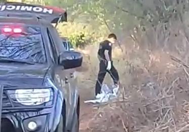 Corpo é encontrado em estrada vicinal da GO-469, em Trindade