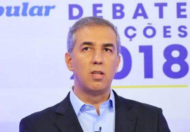 """""""Não há propostas dos adversários para mudar o que fazemos de bom"""", afirma governador em debate CBN/O Popular"""