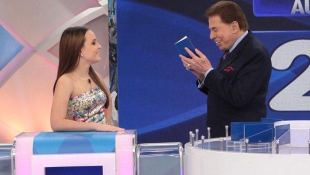 'Ator troca muito de mulher', diz Silvio Santos sobre namorado de Larissa Manoela